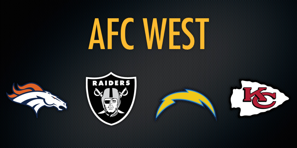 Afc West How Divisional Schedules May Impact Your