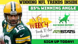 NFL Week 4 trends