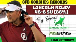 Lincoln Riley Coaches Record