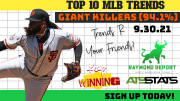 MLB trends