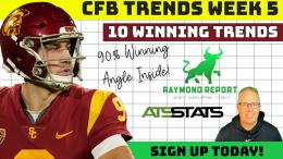 CFB Trends Week 5